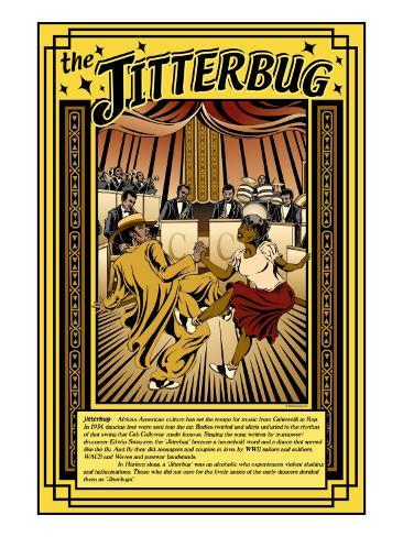 The Jitterbug Stampa artistica