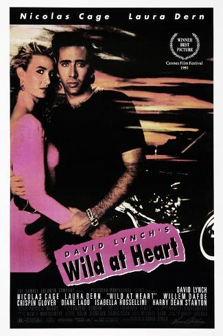 Wild at Heart, Nicolas Cage, Laura Dern, 1990. © Samuel Goldwyn Company/courtesy Everett Collection Art Print