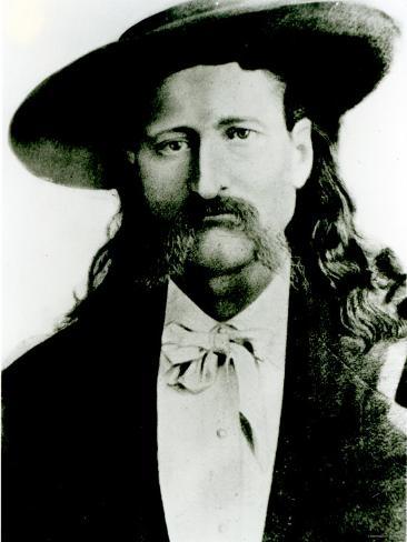 Wild Bill Hickok Photographic Print