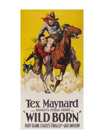 Wild Born Art Print
