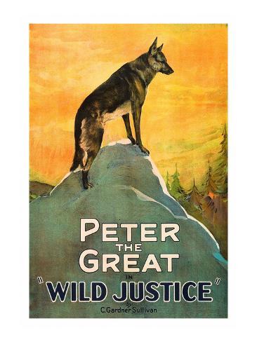 Wild Justice Art Print