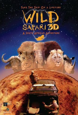Wild Safari 3D Poster