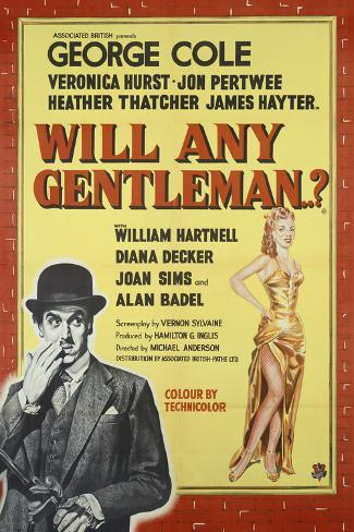 Will Any Gentleman Lámina