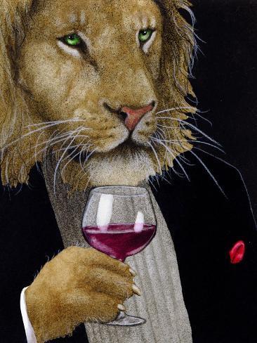 The Wine King Premium Giclee Print