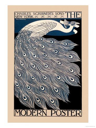 Den moderna affischen Konstprint