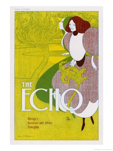 Poster for the Echo, Chicago's Humorous and Artistic Fortnightly Giclee Print