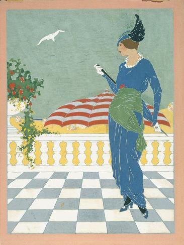 Vogue - August 1913 Stampa giclée premium
