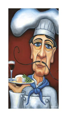 Jaques the Chef Giclee Print