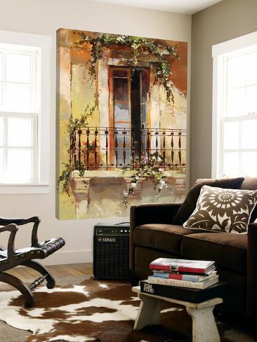 Balcony III Loft Art