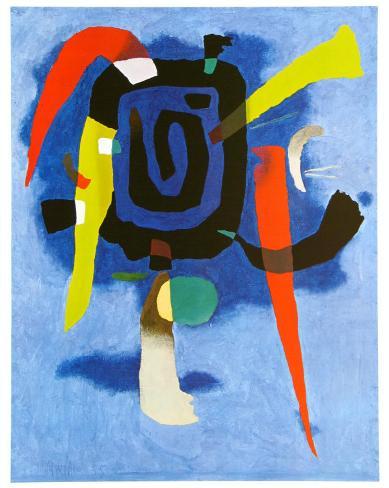 Bluxao V, c.1955 Art Print