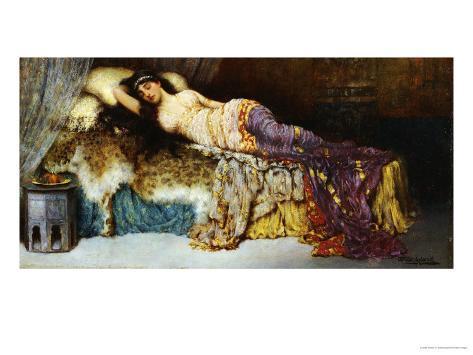 Sleepng Beauty Giclee Print
