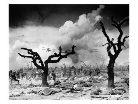 Film: Wings, 1927 Stretched Canvas Print