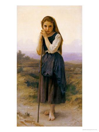 Etude: Tete de Petite Fille, 1888 Giclee Print - William
