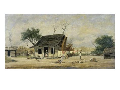 Southern Plantation Impressão giclée