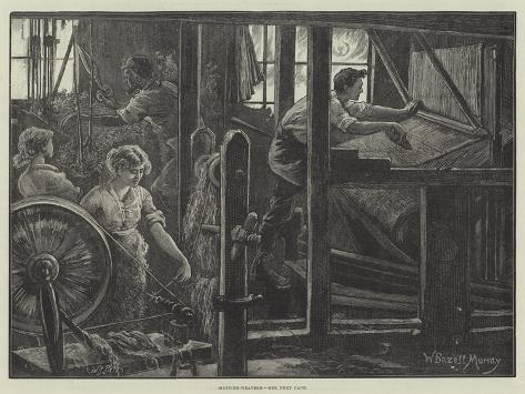 Matting-Weavers Giclee Print