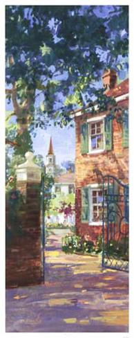 Charleston View Art Print