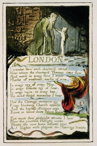 william blake s london Read poems by this poet william blake was born in london on november 28, 1757, to james, a hosier, and catherine blake two of his six siblings died in infancy.