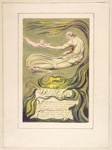 Preludium, Plate 2A from 'The First Book of Urizen', 1794 Giclee Print