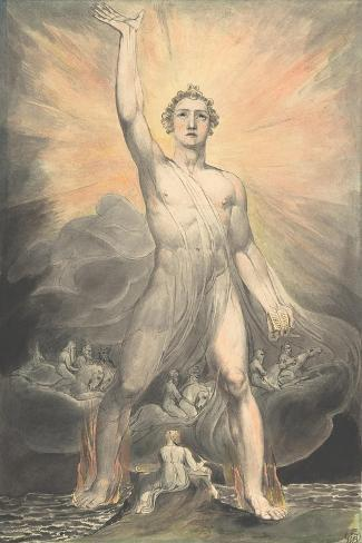 The Angel of Revelation, c.1805 Lámina giclée