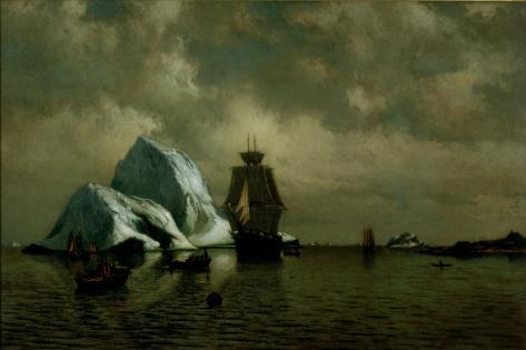 Afternoon on the Labrador Coast, 1878 Giclee Print