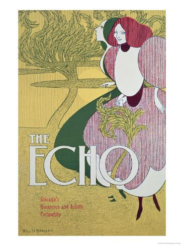 Front Cover of The Echo Giclee Print