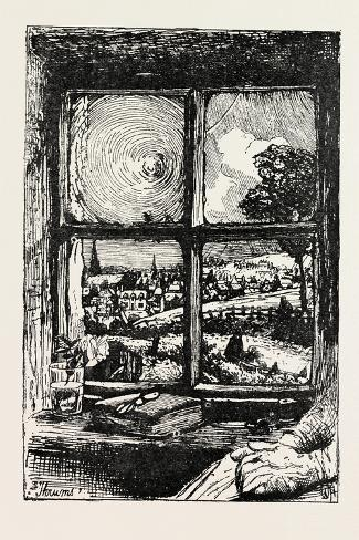 A Window in Thrums, 1893 Giclee Print