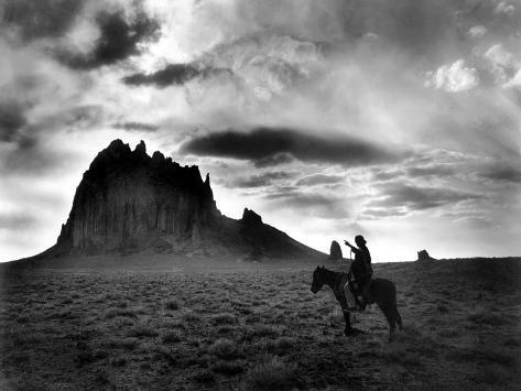 Navajo Man, C1915 Photographic Print