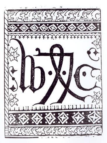 William Caxton's Lámina giclée