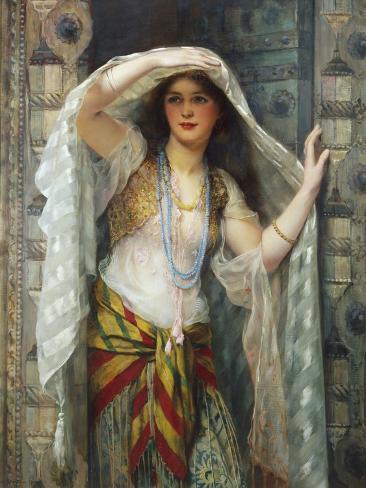 Safie, One of the Three Ladies of Bagdad Stampa giclée