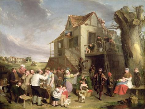 May Day, c.1811-12 Stampa giclée