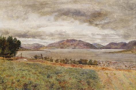 Loch Strivan Lámina giclée