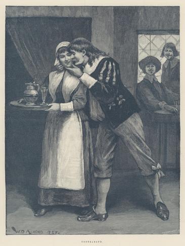 Contraband Giclee Print