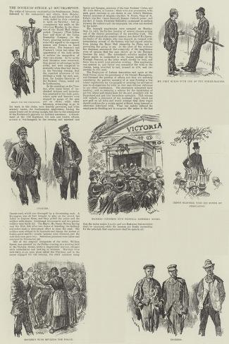 The Dockers' Strike at Southampton Giclee Print