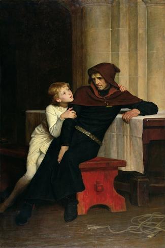 Prince Arthur and Prince Hubert, 1882 Giclee Print