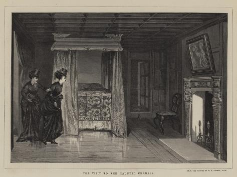 The Visit to the Haunted Chamber Giclee Print