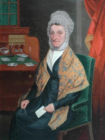 Mrs Martha Cooke, C.1830 Giclee Print
