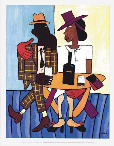 Café, c.1939-40 Art Print