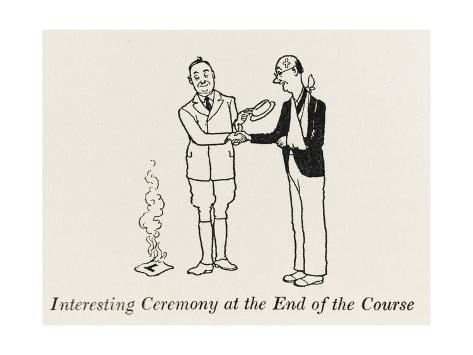 Passing Ceremony Giclee Print