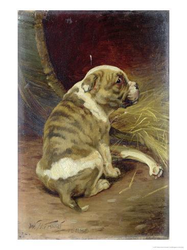 Give a Dog a Bone, 1888 Giclee Print