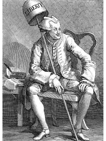John Wilkes, English Politician, 1763 Giclee Print