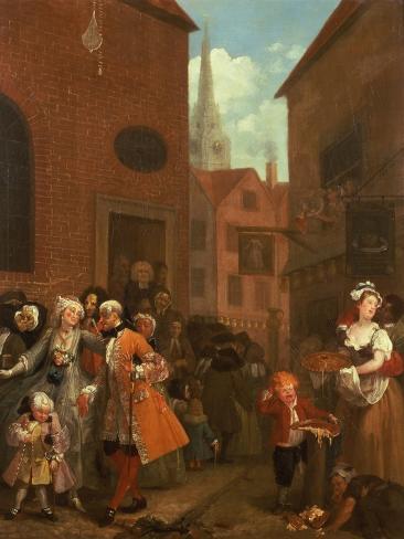 Noon, 1736 Giclee Print