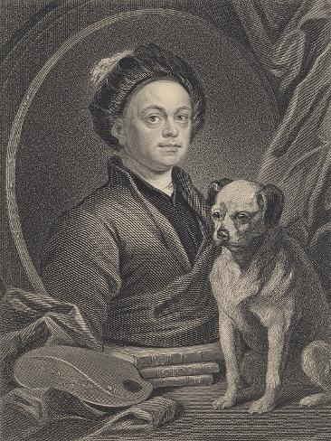 Self Portrait, Engraved by J. Mollison Lámina giclée