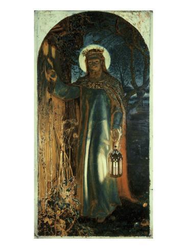 Jesus, Light of the World Giclee Print