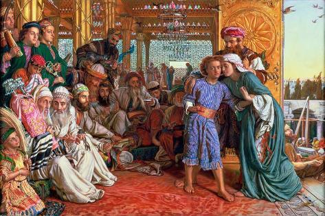The Finding of the Saviour in the Temple, 1862 Lámina giclée