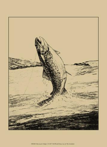Fisherman's Delight I Art Print