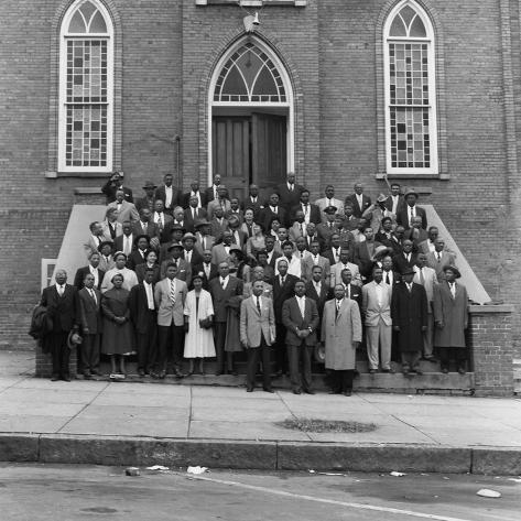 Montgomery Bus Boycott - 1956 Photographic Print