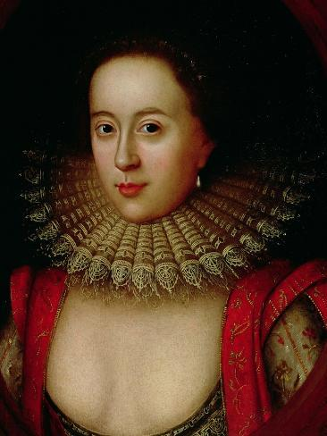 Portrait of Frances Howard (1590-1632) Countess of Somerset, circa 1615 Giclee Print