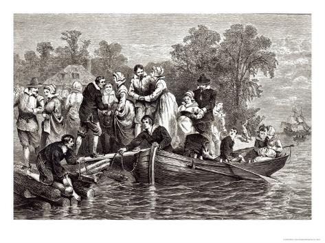 Wives For the Settlers at Jamestown, Pioneers in the Settlement of America William A. Craft, 1876 Giclee Print