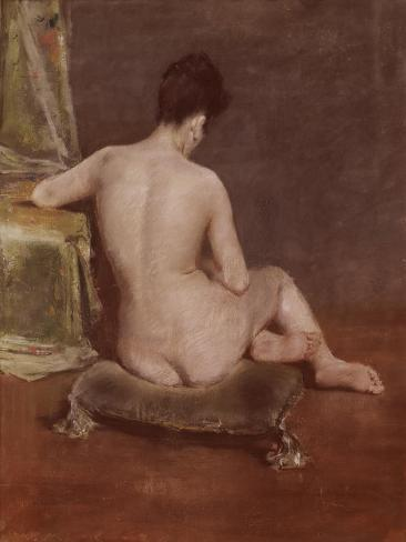 Seated Nude Giclee Print