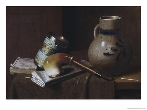 Still Life with Three Castles Tobacco, no.2 Giclee Print